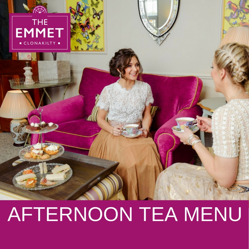 Afternoon Tea Menus